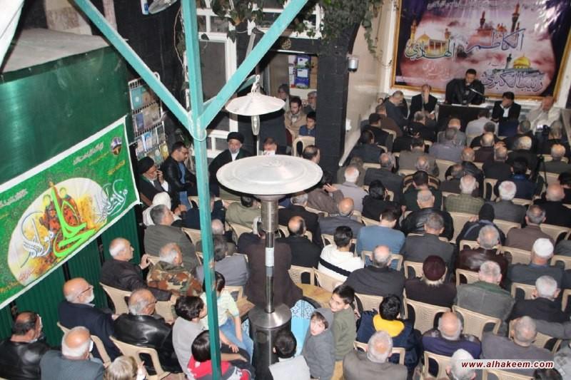 إحياء ذكرى وفاة عقيلة بني هاشم السيدة زينب الكبرى (عليها السلام) في مكتب سماحة المرجع الديني الكبير السيد محمد سعيد الحكيم (مد ظله) في العاصمة السورية دمشق