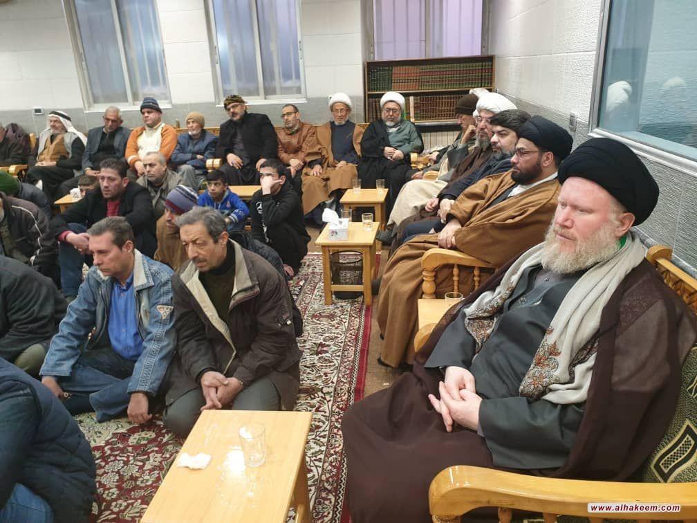 إحياء ذكرى شهادة الصديقة الكبرى فاطمة الزهراء (عليها السلام) في مكتب سماحة المرجع الديني الكبير السيد محمد سعيد الحكيم (مد ظله) في السيدة زينب (عليها السلام) في سوريا