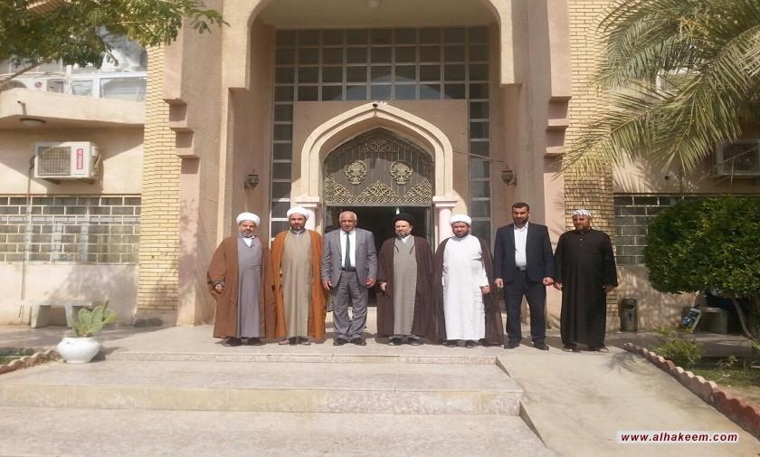 بازدید از دانشگاه القرنه استان بصره