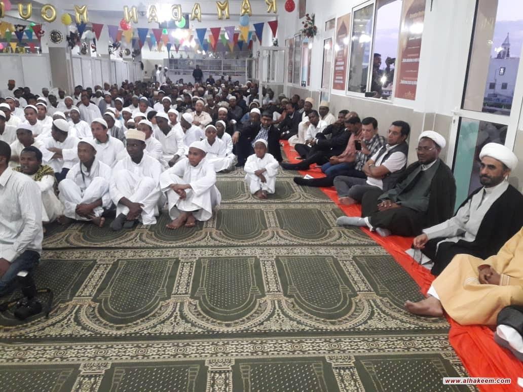 في اطار الاطلاع على أحوال المؤمنين، مبعوث مكتب سماحة المرجع الديني الكبير السيد الحكيم (مدّ ظله) يصل عاصمة مدغشقر (أنتاناناريفو)