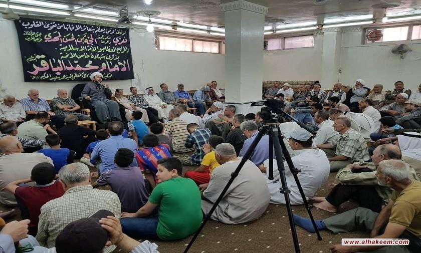 برگزاری مراسم شهادت امام محمد باقر علیه السلام در دفتر سوریه