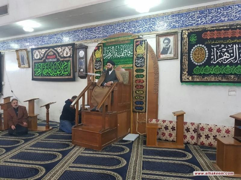 بازدید از حسینیه عبدالرسول علی در الکراده شرقی استان بغداد