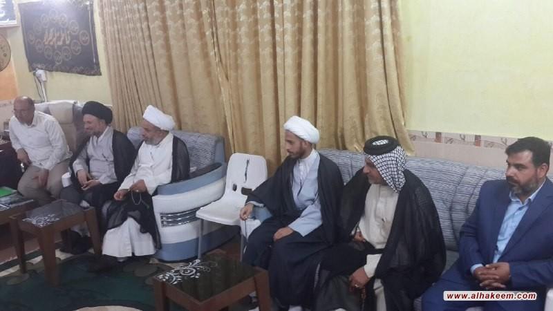 بازدید حجة الاسلام والمسلمين سید عزالدین حکیم از موسسه خیریه الیتیم در استان میسان