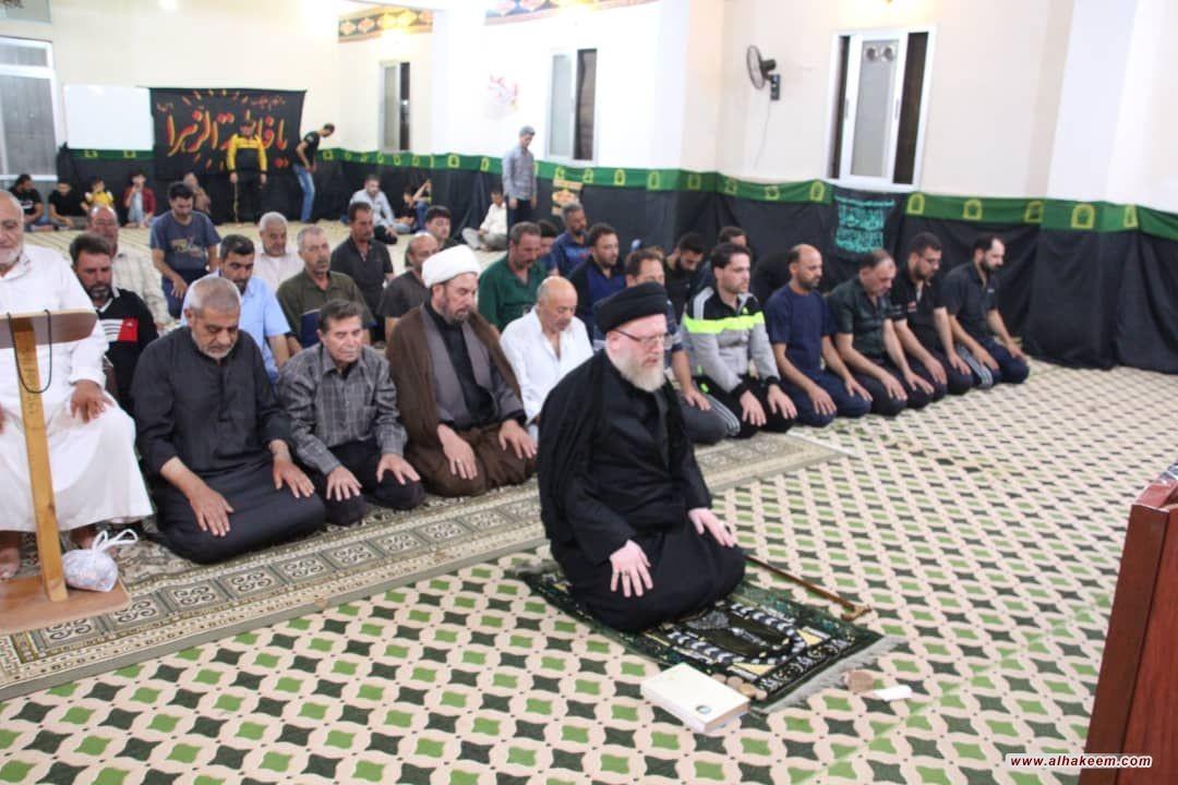بمناسبة ذكرى شهادة الإمام الحسين (عليه السلام)، وفد مكتب سماحة المرجع الديني الكبير السيد الحكيم (مد ظله) يقوم بجولة على المجالس لحسينية في ريف حمص السورية