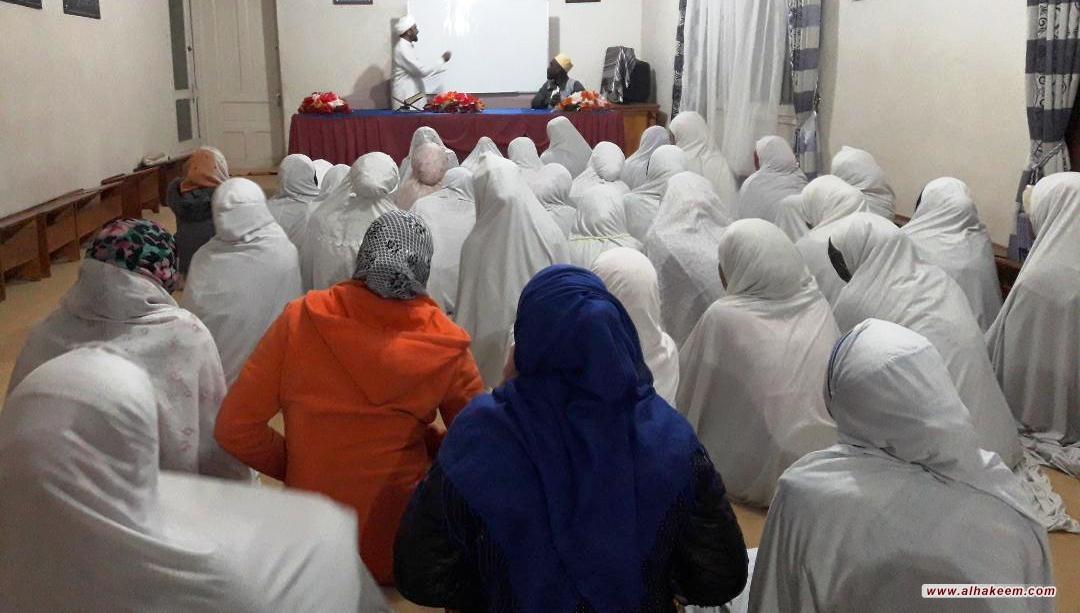 مبعوث مكتب سماحة المرجع الديني الكبير السيد الحكيم (مدّ ظله)، يواصل نشاطه التبليغي في عاصمة مدغشقر أنتاناناريفو