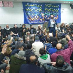إحياء ذكرى ولادة السيدة زينب (عليها السلام) في مكتب سماحة المرجع الديني الكبير السيد محمد سعيد الحكيم (مد ظله) في حي السيدة زينب بسوريا