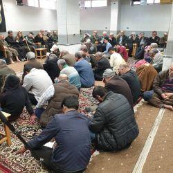 إحياء ذكرى وفاة عقيلة بني هاشم السيدة زينب الكبرى (عليها السلام) في مكتب سماحة المرجع الديني الكبير السيد محمد سعيد الحكيم (مد ظله) في السيدة زينب (عليها السلام) بسوريا