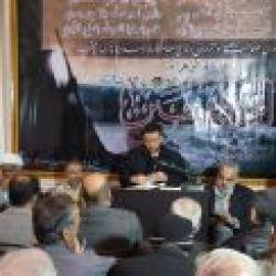 برپایی مراسم وفات حضرت ام البنین (علیها سلام) در دفتر منطقه شهرک الامین دمشق