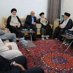استقبال آیت الله العظمی حکیم (مدظله) از سفیر جدید ایران در عراق
