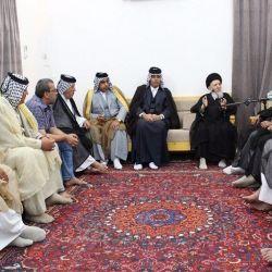سماحة المرجع الكبير السيد الحكيم (مدّ ظله) يجدد دعوته للعشائر العراقية الكريمة بعدم الانجرار للأعراف البعيدة عن الدين والعقيدة التي تؤدي إلى الظلم وتضر بالمجتمع