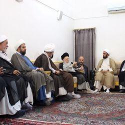 سماحة المرجع الديني الكبير السيد الحكيم (مدّ ظله) يدعو المبلغين وخطباء المنبر الحسيني إلى التحقيق والتثبت في نقل الروايات وجمع المعلومات بدقة لينتفع بها المجتمع