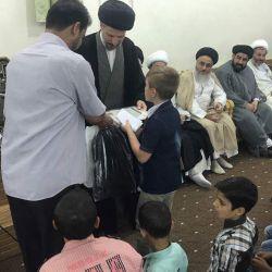 """مكتب سماحة المرجع الكبير السيد الحكيم (مد ظله) في سوريا يحتفي بتخرج """"دورة الإمام الحسين عليه السلام الثقافية للفتيان"""
