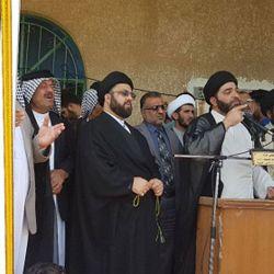 استقبال مؤسسه شعائر از اهالی بصره ، برای زیارت حضرت موسی بن جعفر علیه السلام