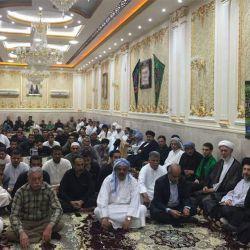 آية الله السيد رياض الحكيم (دام عزه) يزور مضيف بني كعب البو ناصر في مدينة الفلاحية