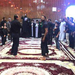 آية الله السيد رياض الحكيم (دام عزه) يزور حسينية أبو الفضل العباس في مدينة معشور
