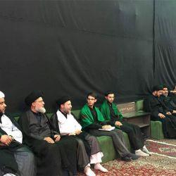 آية الله السيد رياض الحكيم (دام عزه) يزور الحسينية الحيدرية في محافظة أصفهان