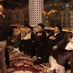 بازدید آیت الله سید ریاض حکیم از حسینیه الکاظمیه در استان اصفهان
