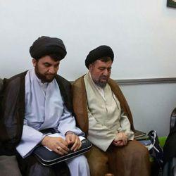 استقبال آیت الله سید ریاض حکیم از مجمع طلاب شمال افغانستان