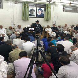 مكتب سماحة المرجع الكبير السيد الحكيم (مد ظله) يقيم المجلس الرمضاني اليومي في منطقة السيدة زينب عليها السلام في سوريا