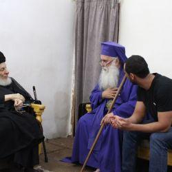 مرجع جہان تشیع سید محمد سعید الحکیم (مد ظلہ) نے عیسائی پادری سے ملاقات میں ؛ مختلف ادیان کے لوگوں کو محبت ،آپس کے رابطوں اور رفت و آمد کو بڑھانے اور اقدار کو فروغ دینے پر زور دیا