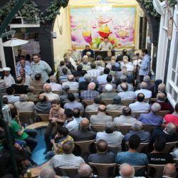 برگزاری جشن تولد وحضرت امام حسین (علیه السلام)، حضرت ابالفضل العباس (علیه السلام)  وحضرت امام سجاد (علیه السلام) در شهرک الامین دمشق