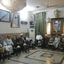 ضمن نشاطات قسم التبليغ في مكتب المرجع الكبير السيد الحكيم (مدّ ظله)؛ السيد عز الدين الحكيم يشارك عشائر ناحية اليوسفية جنوبي بغداد بإحياء ليالي شهر رمضان المبارك