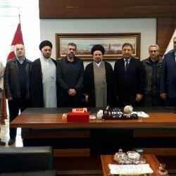 وفد قسم التبليغ في مكتب سماحة المرجع الديني الكبير السيد الحكيم (دام ظله) يزور كلية الالهيات في جامعة مرمرة في اسطنبول