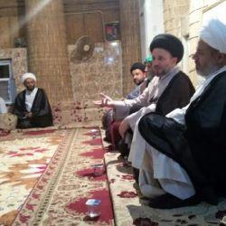 بازدید سید عزالدین حکیم از مضیف عشیره البیضانی در استان میسان