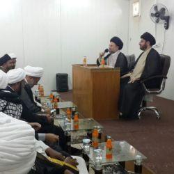 سخنرانی سید عزالدین حکیم در دانشگاه امام کاظم علیه السلام در شهر العماره