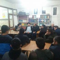 وفد مكتب سماحة المرجع الكبير السيد الحكيم (مدّ ظله) يزور مسجد الإمام الرضا (عليه السلام) في إسطنبول ويقيم صلاة الجماعة