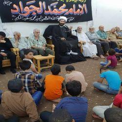 إحياء  ذكرى شهادة الإمام الجواد عليه السلام في مكتب سماحة المرجع الديني الكبير السيد محمد سعيد الحكيم (مد ظله) في منطقة السيدة زينب عليها السلام في سوريا