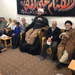 مكتب سماحة المرجع الديني الكبير السيد الحكيم (مد ظله) في السيدة زينب (عليها السلام) يحيي ذكرى شهادة الإمام علي الهادي (عليه السلام)