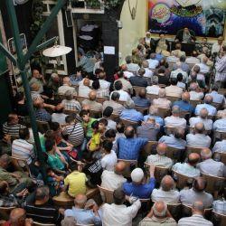 مكتب سماحة المرجع الديني الكبير السيد الحكيم (مد ظله) يقيم المجلس الرمضاني اليومي في حي الأمين بدمشق