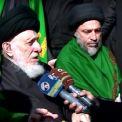 آيت اللہ العظمی سید الحکیم (مدظلہ العالی) نے لوگوں کے ساتھ کربلا معلی کی طرف جانے والے اربعین مارچ میں شرکت فرمائے
