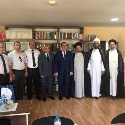 وفد مكتب سماحة المرجع الكبير السيد الحكيم (مدّ ظله) يزور مركز الدراسات الدينية في باكو، ويبحث سبل التعاون الثقافي المشترك بين النجف الاشرف وجمهورية أذربيجان
