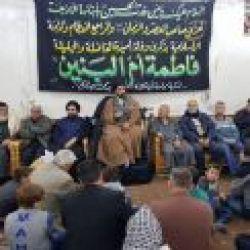 برپایی مراسم وفات حضرت ام البنین (علیها سلام) در دفتر منطقه السیده زینب (علیها السلام) دمشق