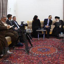 مرجع جہان تشیع سید حکيم (مدظلہ) ناروے کے بغداد میں موجود چارج ڈیئیر سے ملاقات کی اور آپس میں زیادہ سے زیادہ روابط پر زور دیا