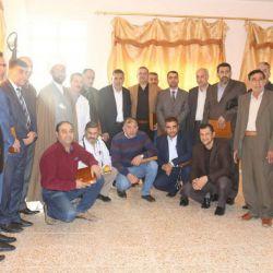 تجلیل از 35 پزشک متخصص در شهر (المدَيْنٓة) از توابع استان بصره